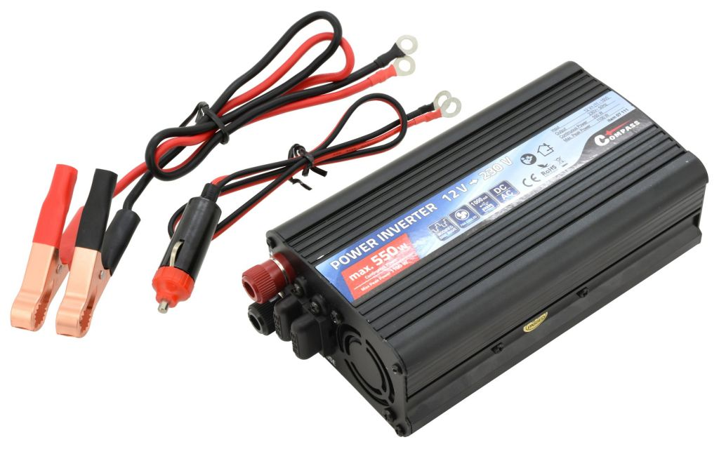Compass Trafo 12/230V 550W + USB