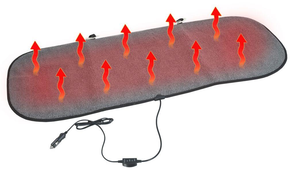 Potah sedadla vyhřívaný s termostatem - 12V TEDDY, zadní