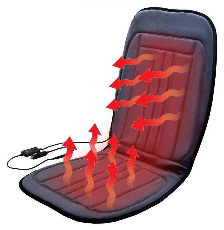 Potah sedadla vyhřívaný s termostatem - 12V GRADE