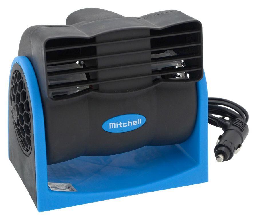 Ventilátor MITCHELL na palubní desku – 12V