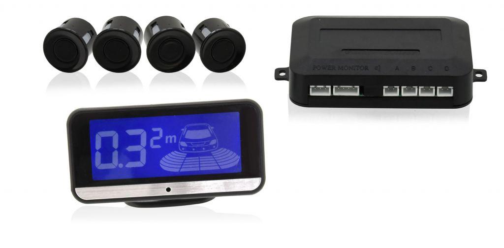 Parkovací asistent – 4 senzory, LCD display