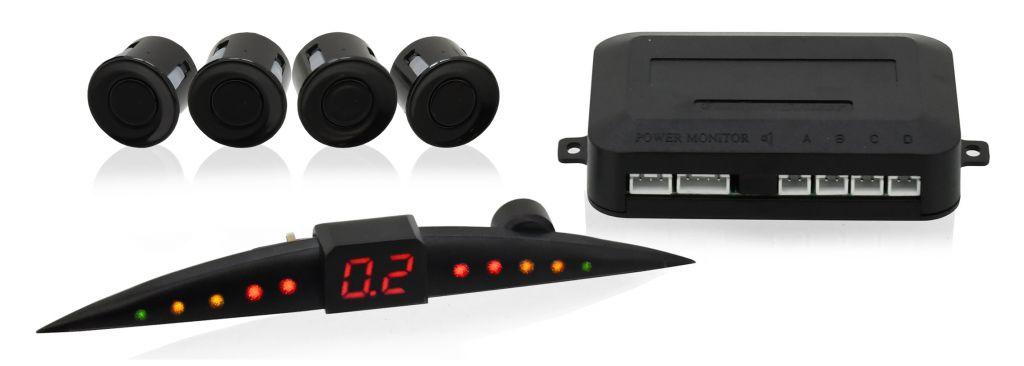 Parkovací asistent – 4 senzory, LED display