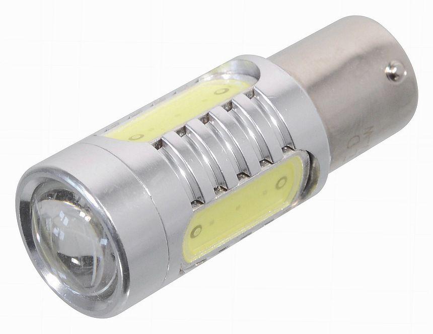 Žárovka 4 SMD LED , s rezistorem CAN-BUS ready - bílá, 12V