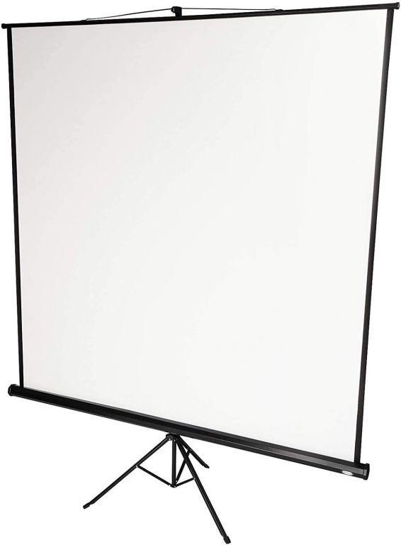 Projekční plátno se stativem, 244 x 182 cm