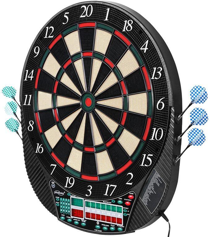 Elektronický terč na šipky pro 16 hráčů + 12 šipek