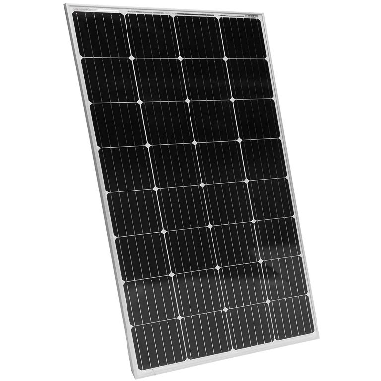Fotovoltaický solární panel, 165 W, monokrystalický