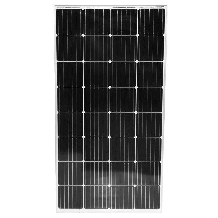Fotovoltaický solární panel, 150 W, monokrystalický