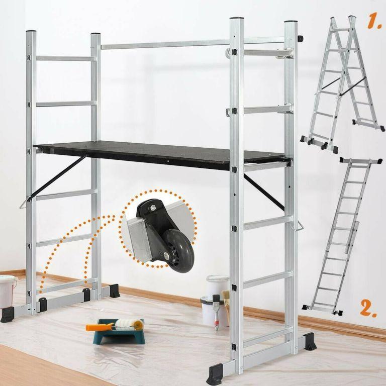 Multifunkční stavební lešení s pracovní výškou 46-102 cm