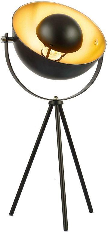 Stolní lampa se stojanem, 22 x 22 x 67 cm