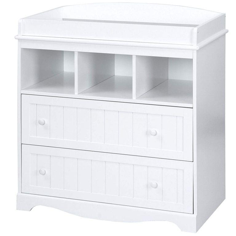 Přebalovací komoda v barvě bílé, 88 cm