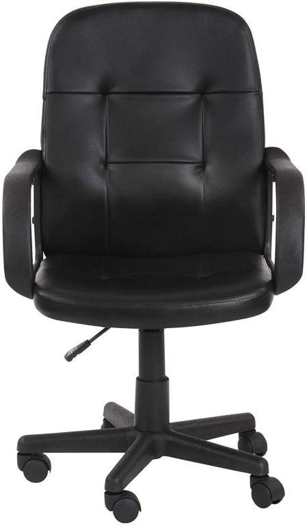 Kancelářská židle s loketní opěrkou, černá