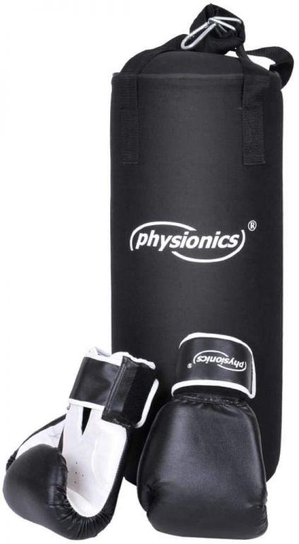 Boxovací pytel s boxerskými rukavicemi pro děti, 25 x 60 cm