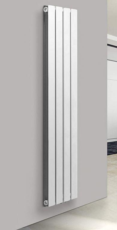 Vertikální radiátor, středové připojení, 1800 x 304 x 69 mm