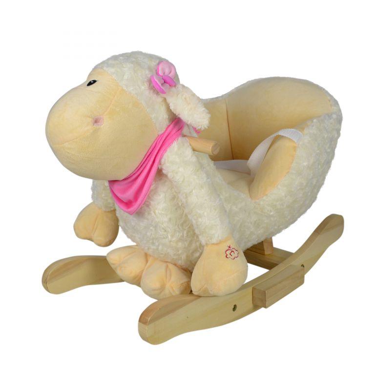 Infantastic Plyšové houpací zvířátko ovečka, 68 x 33 x 47 cm