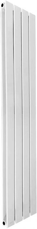 Vertikální radiátor, středové připojení, 1600 x 304 x 69 mm
