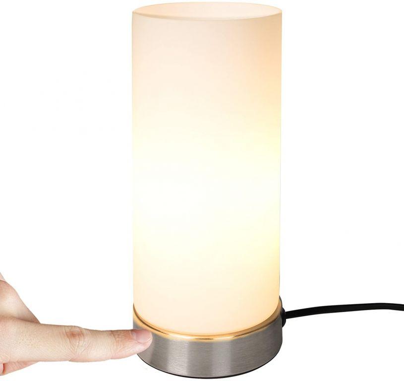 Stolní lampa s dotykovou funkcí stmívání, 10 x 25 cm