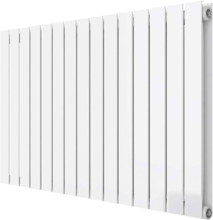 Horizontální radiátor, středové připojení, 600 x 1022 mm