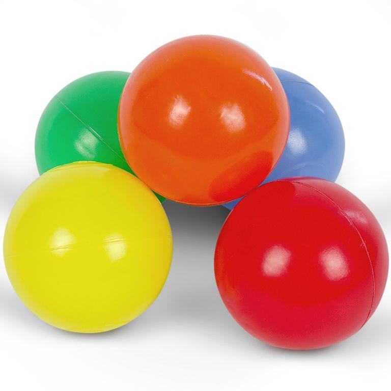 Infantastic Pestrobarevné míčky, dětské, 1000 ks