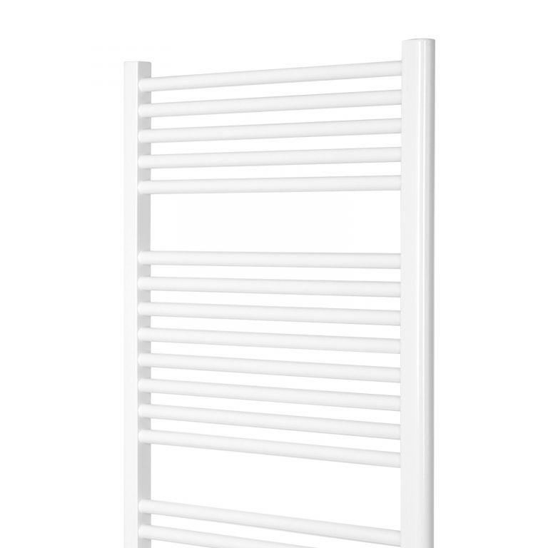 AQUAMARIN Vertikální koupelnový radiátor 1800 x 600 mm, bílý