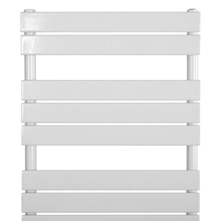 AQUAMARIN Vertikální koupelnový radiátor 1200 x 600 mm, bílá