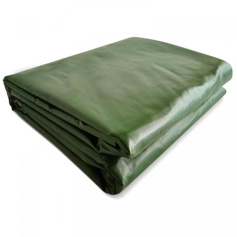 JAGO Plachta 650 g/m², hliníková oka, zelená, 4 x 3 m