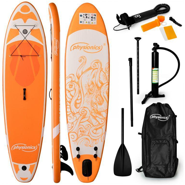 Physionics nafukovací paddleboard
