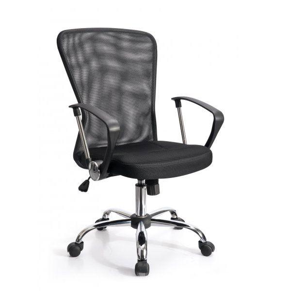 Kancelářská židle Aljaška - černá