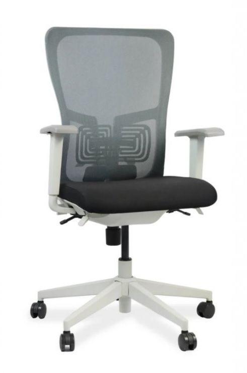 Kancelářská židle Dominika, šedá