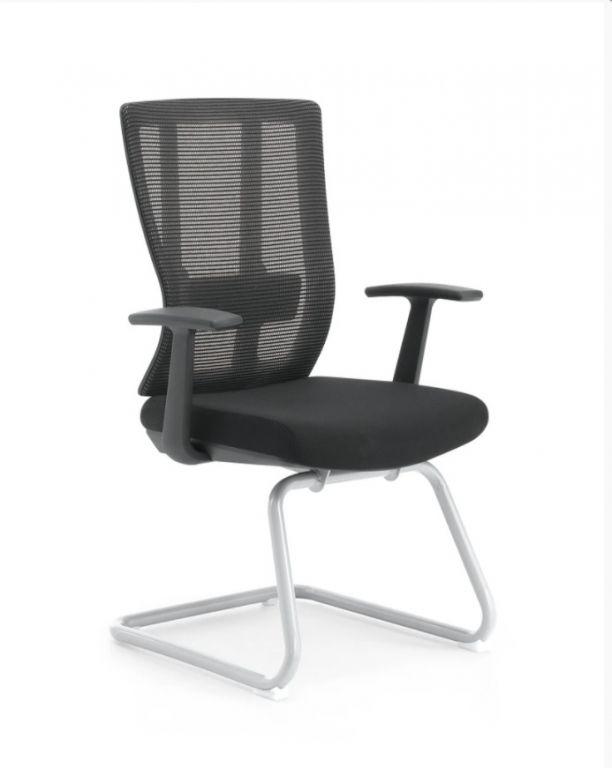 Kancelářská židle Delaware SKID - černá
