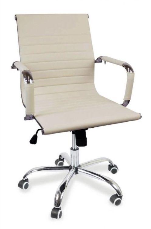 Kancelářská židle Idaho - krémová