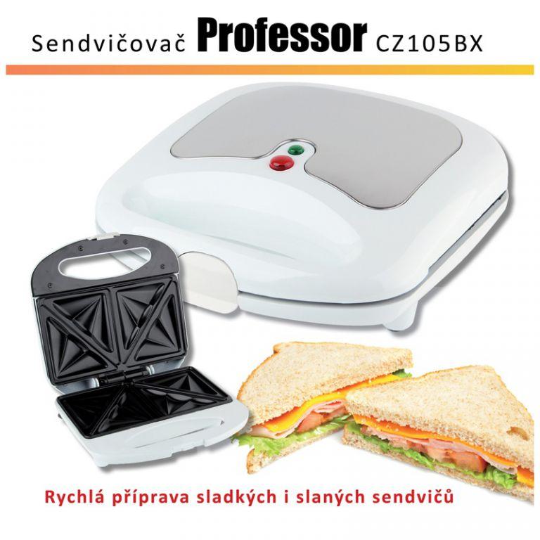 Sendvičovač PROFESSOR CZ105BX