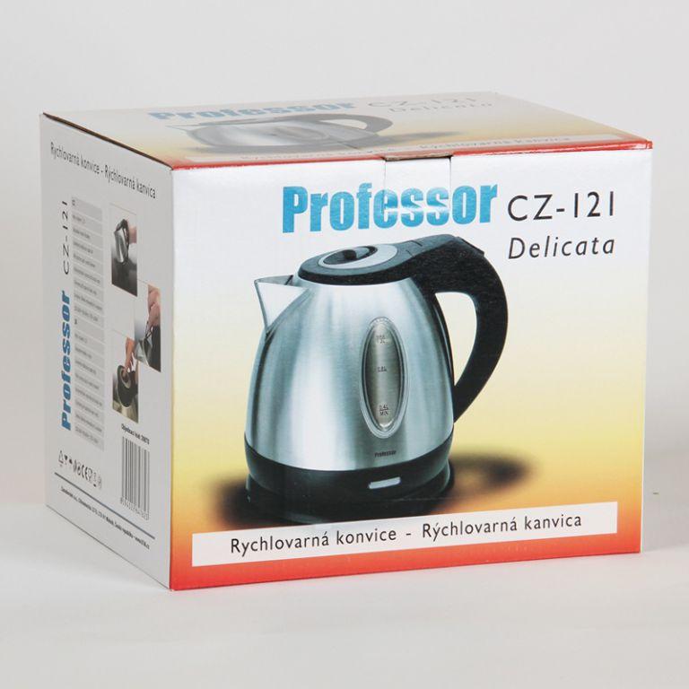 Rychlovarná nerezová konvice PROFESSOR CZ 121