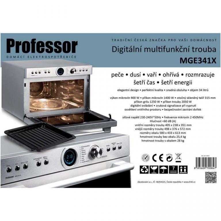 Mikrovlnná trouba Professor MGE341X