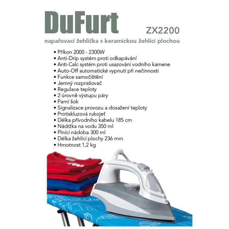 Žehlička DuFurt ZX2200
