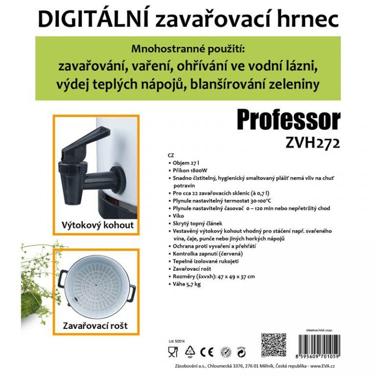 Hrnec zavařovací Professor ZVH272