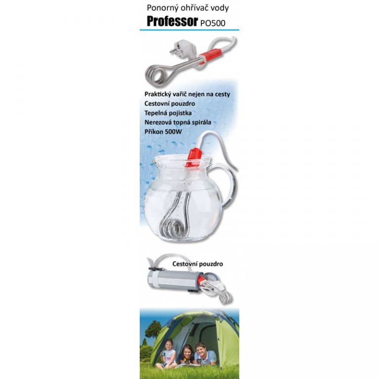 Ponorný vařič nerezový Professor PO500