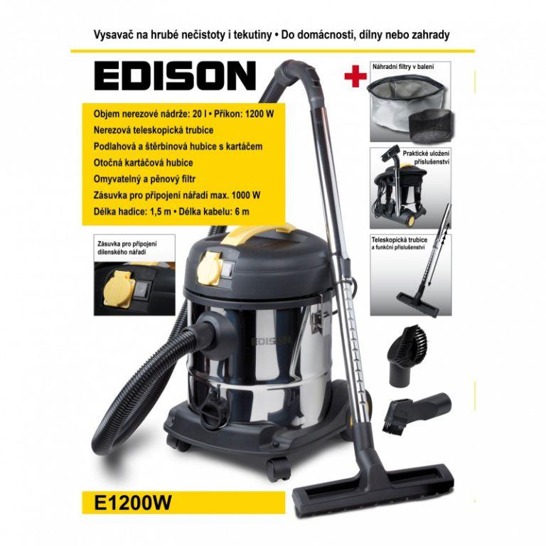 Vysavač Edison E1200W