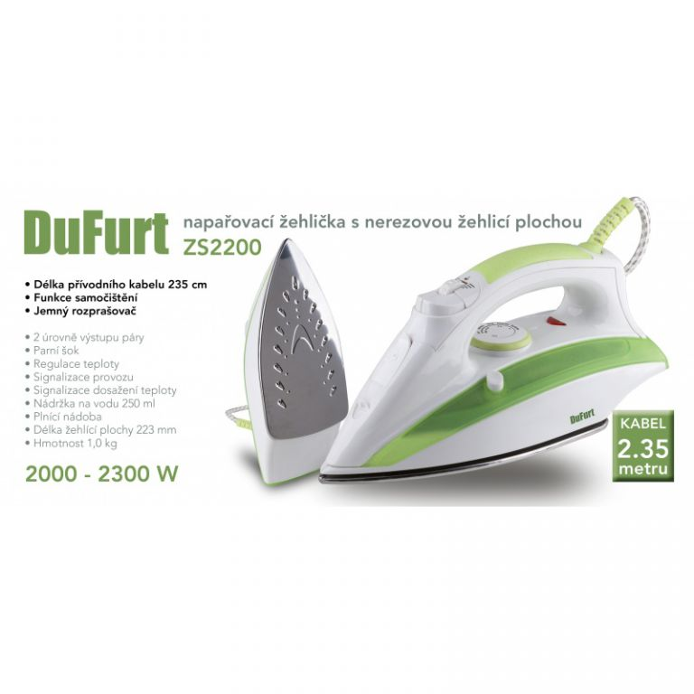 Žehlička DuFurt ZS2200