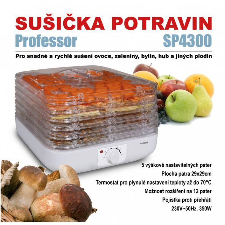 Sušička ovoce Professor SP4300, hranatá