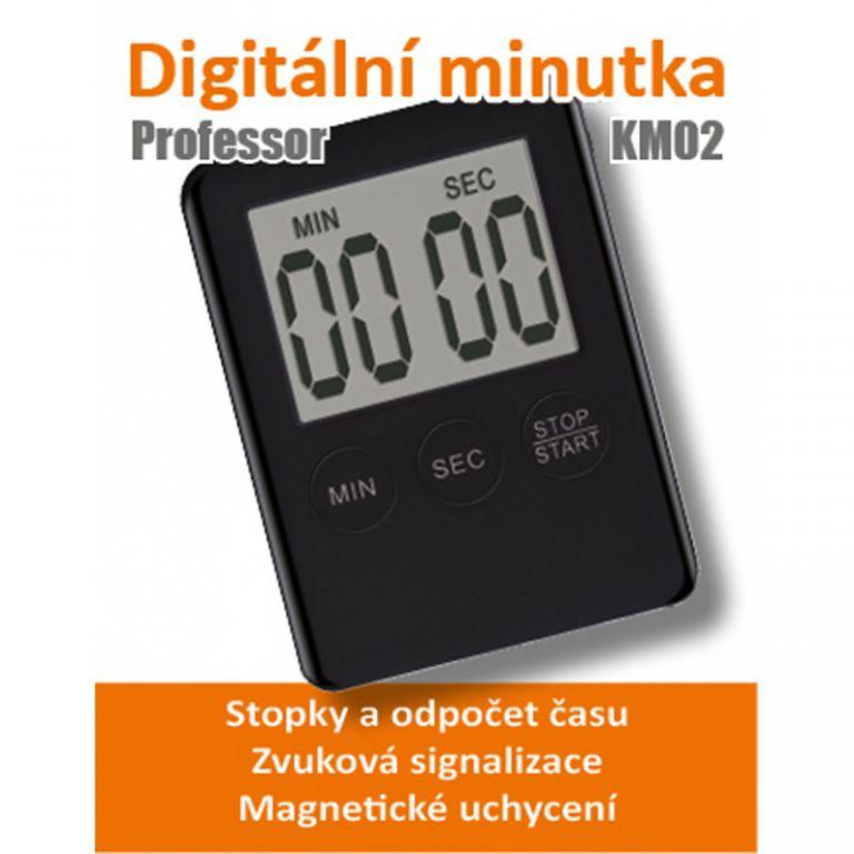Kuchyňská minutka Professor KM02 černá