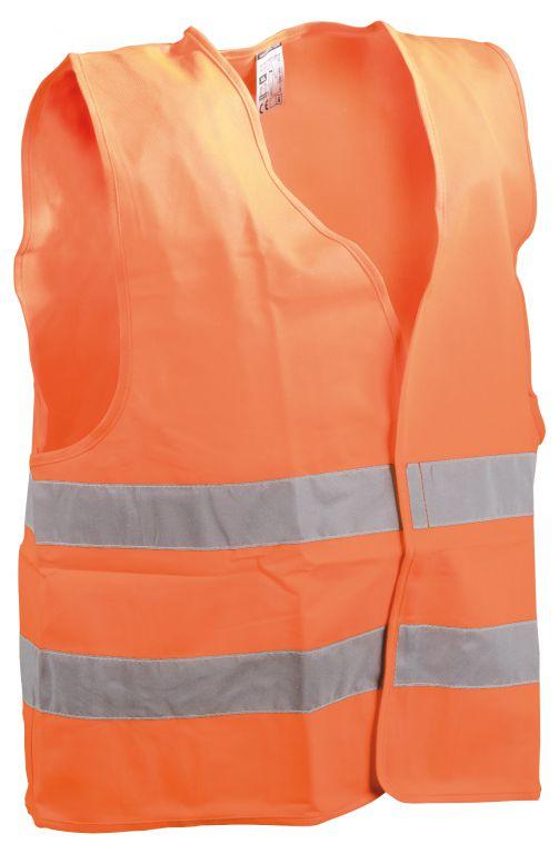 Vesta reflexní XL oranžová, EN ISO 20471:2013