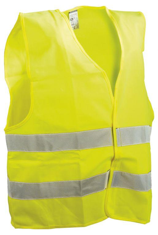 Vesta reflexní XL žlutá, EN ISO 20471:2013