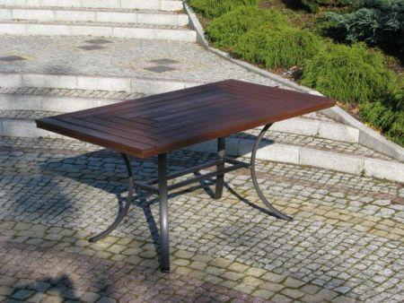 Zahradní stůl WELLINGTON černý FSC