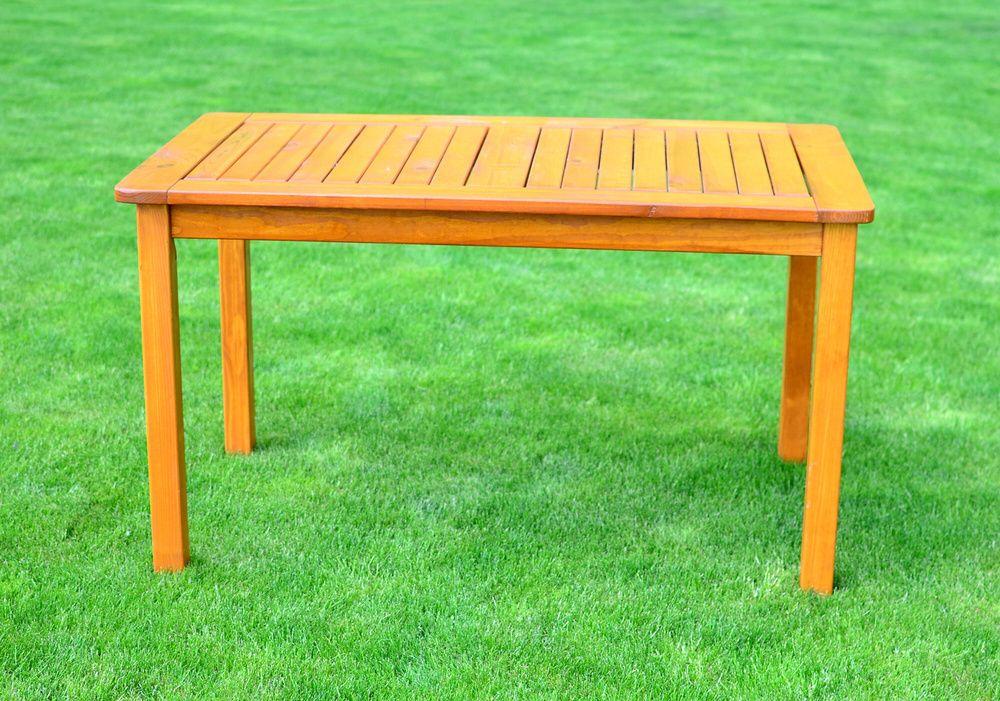 Zahradní stůl HOLIDAY lakovaný FSC