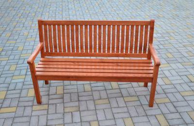 Tradgard BOSTON Zahradní lavice sv.hnědá FSC