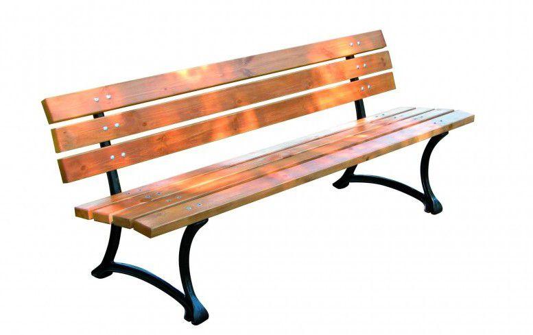 Dřevěná zahradní parková lavice FSC