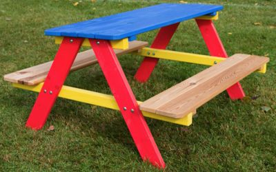 Dětský zahradní dřevěný set PIKNIK FSC