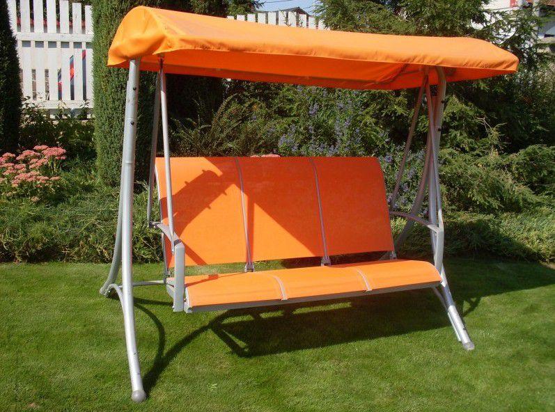 Zahradní houpačka HOLLYWOOD oranžová