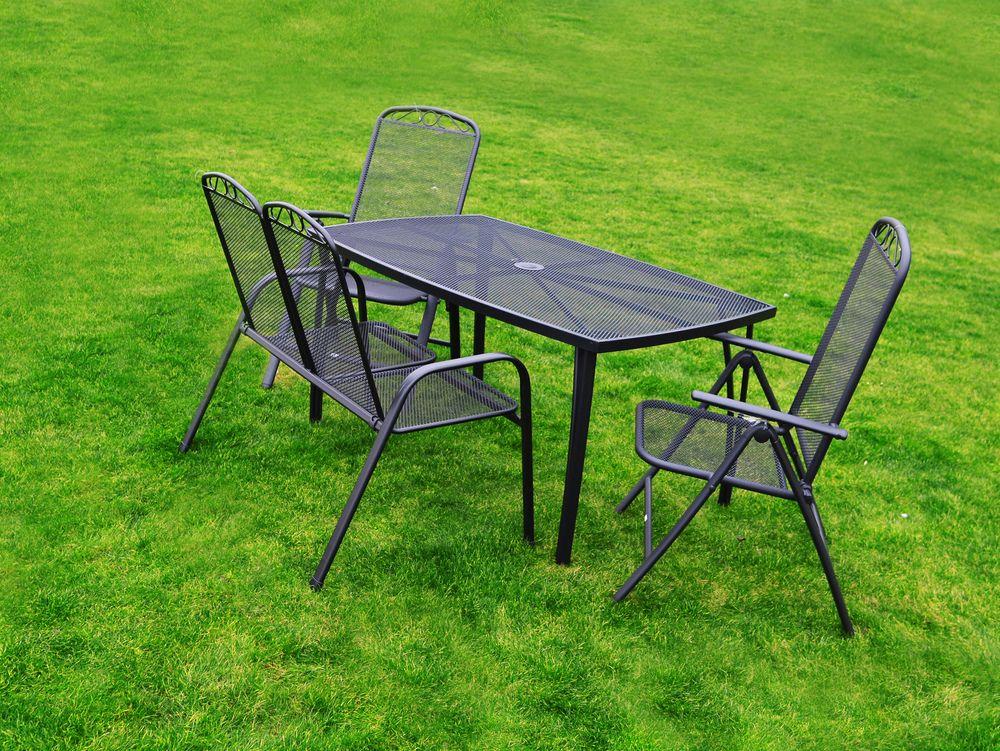 Zahradní kovový stůl ZWMT-24