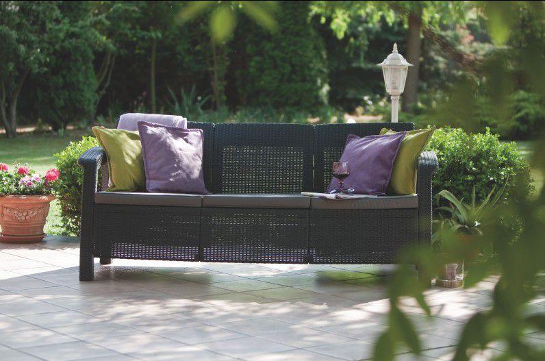 Zahradní pohovka CORFU LOVE SEAT MAX antracit